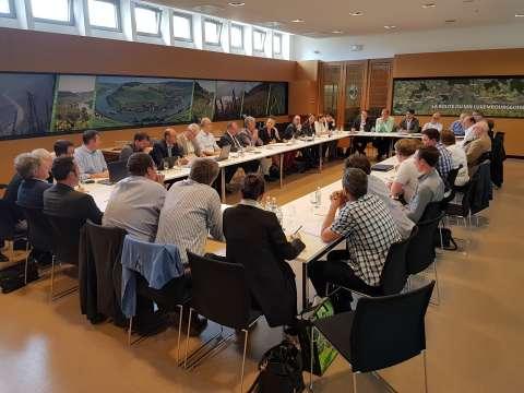 Réunion: L'eau, l'élément précieux pour développer les productions horticoles au Luxembourg